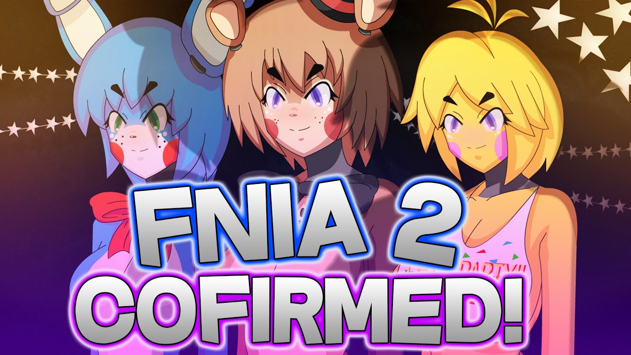 Fnia 2 five nights in anime 2 confirmed || fnia 2 balloon babe & puppet  screenshots & info!