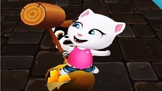 Говорящий Кот Том ЗА ЗОЛОТОМ #5 Мой виртуальный питомец Игровой Мультик игра видео для детей