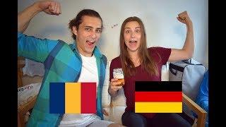LANGUAGE CHALLENGE - Romanian VS German
