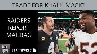 Raiders Free Agency Rumors On D.J. Swearinger, LeGarrette Blount + Trading For Khalil Mack Q&A