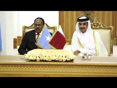 Guulaha Safarkii Qatar | Kulankii Madaxwayne Farmaajo iyo Amiirka Qatar