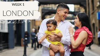 Our First Family Vacation | London England | Traveling with a Baby