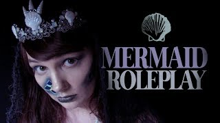 🐚 ASMR Mermaid Roleplay ~ Unintelligible Whisper ~ Bubbles ~ Waves ~