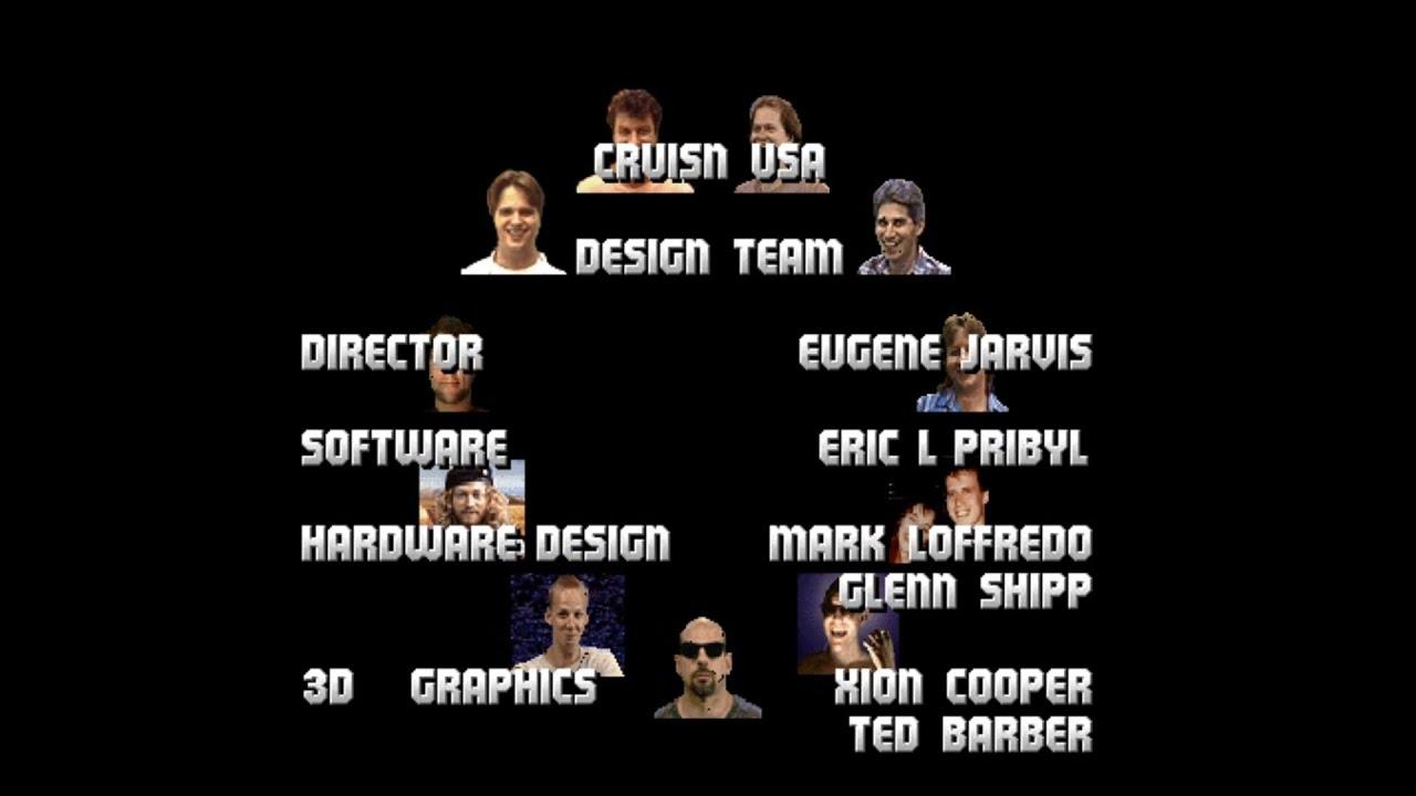 Blog de Emulación : [Jugando a   ] Cruis'n USA (Arcade)  Final: 20
