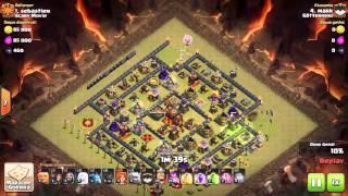 Götterherz - GoVaWi - RH9 vs.RH10 3 Sterne Angriff - Clash of Clans - CoC