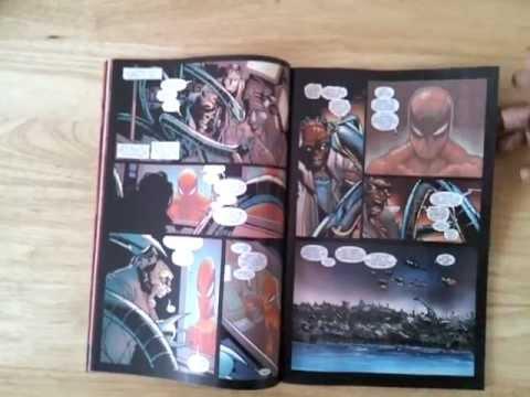 Unboxing Amazing Spider-Man #700 (Marvel Comics)