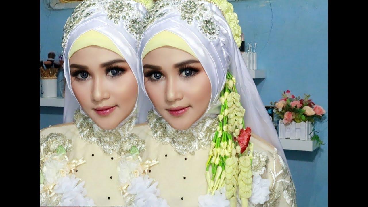 Cara Hijab Pengantin Simple Tanpa Ribet Tapi Terlihat Lebih Kece Badai Youtube