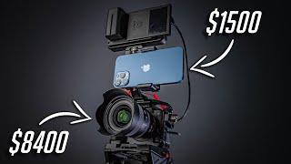 Съемка видео на iPhone 12 Pro Max vs камеры за $8000+ (Sony A7SIII) в руках новичка