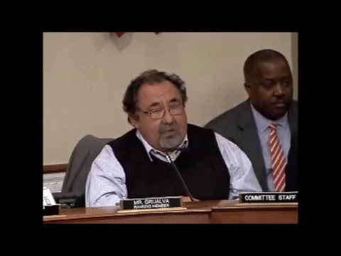 Ranking Member Grijalva's Remarks on the Debt Crisis in Puerto Rico