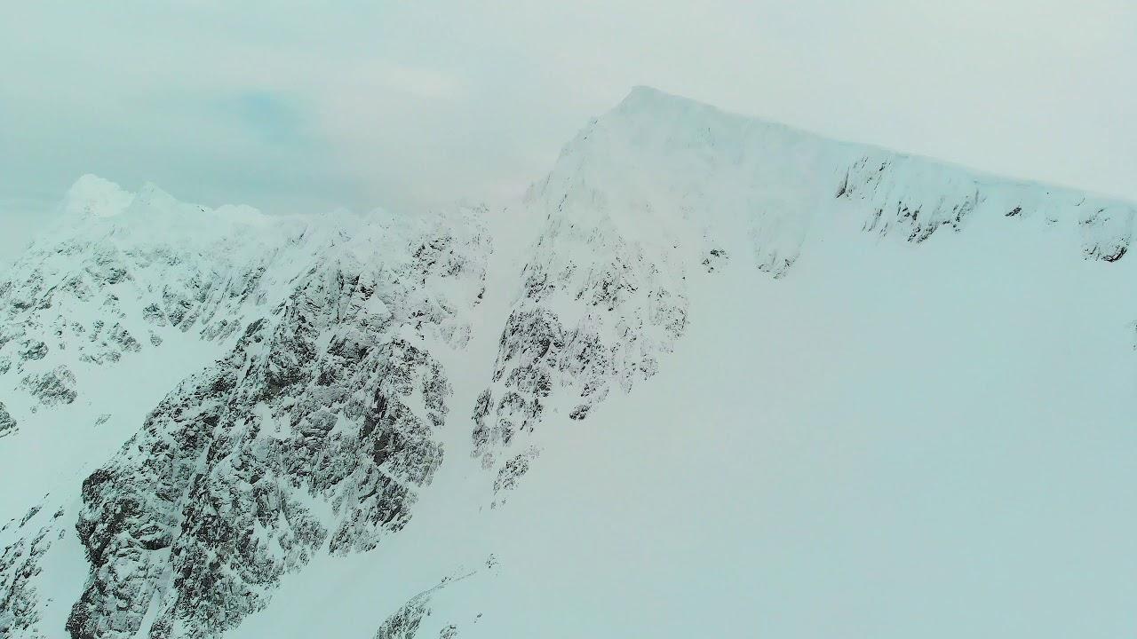 day 3 lyngen alps ski trip
