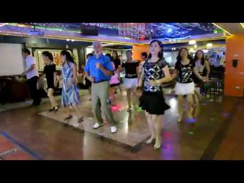 Electric Slide Line Dance(By Ric silvern)