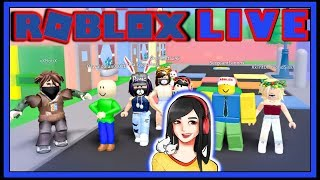 Roblox Live Stream Any Games - GameDay Saturday 143 - AM