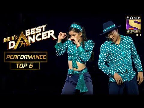 Tiger और Vartika ने दिखाया Retro Style का Essence | India's Best Dancer | Best Of Top 5