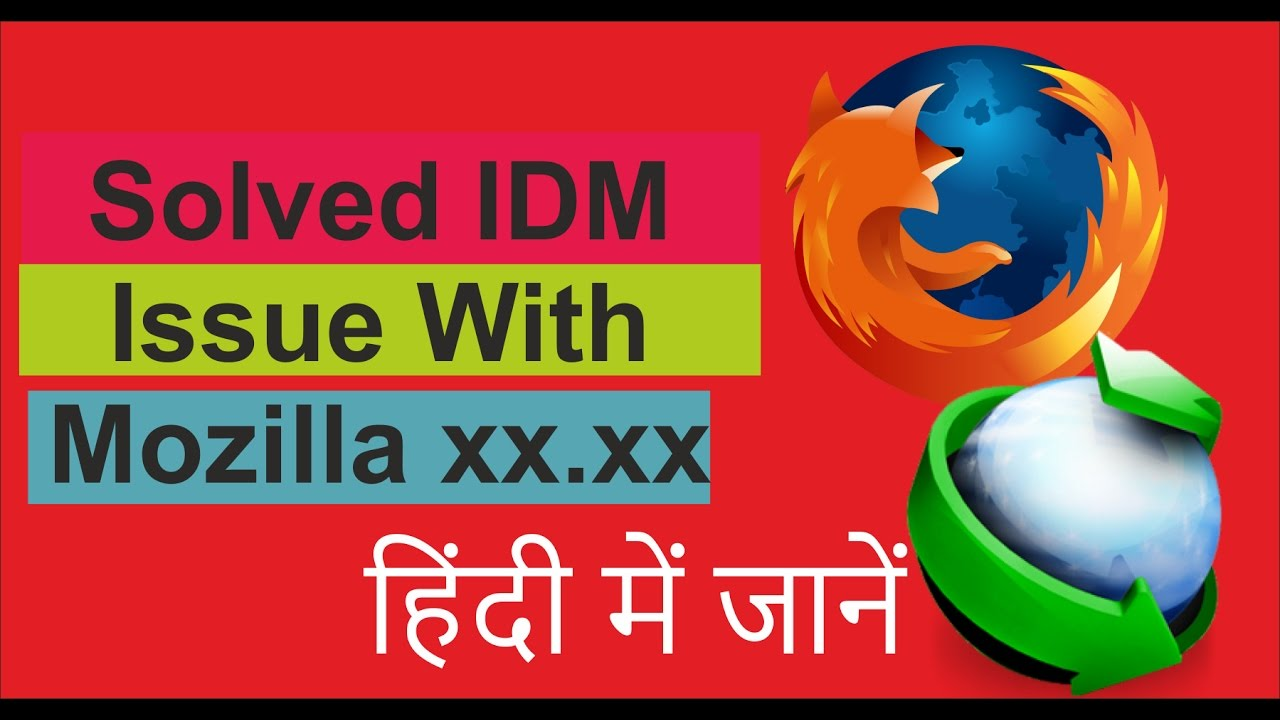 How to Resolve IDM cc could not be verified for use in firefox and has been  disabled