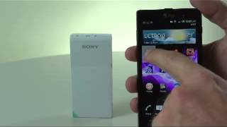 03. How to Transfer a Picture from your Smartphone to a Sony® Portable Wireless Server