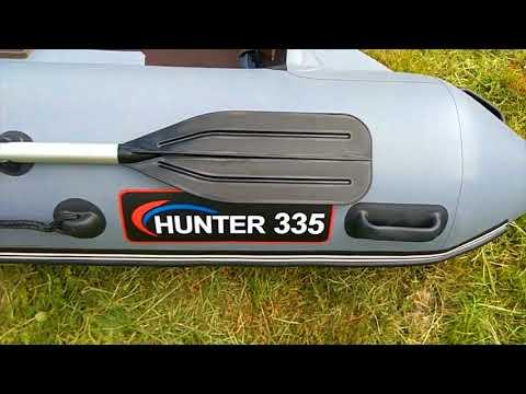 ХАНТЕР 335 - откровенный взгляд покупателя на лодку