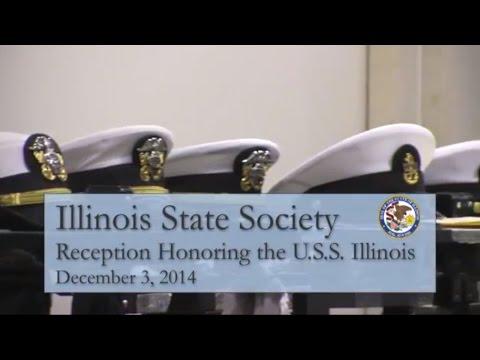 USS Illinois Reception - Illinois State Society