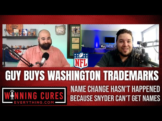 NFL Washington troll bought trademarks for most possible name changes