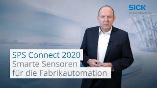 Ausstellerbeitrag SPS Connect 2020: Intelligente und smarte Sensoren für die Fabrikautomation