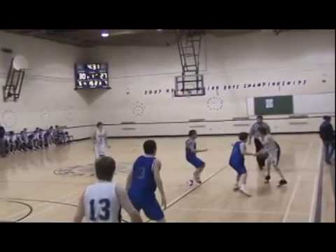NBIAA Basketball Final JV 2007- SSHS against Carleton North