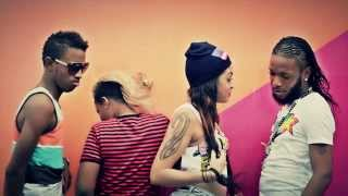 QQ & Radijah - Kotch Pon Di Edge | Official Music Video | September 2013