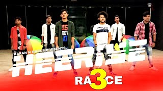Heeriye song video -Race 3 | Salman Khan ,Jacqueline .ft dance by Karan n group dance studio