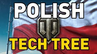 Polish Tech Tree in World of Tanks!