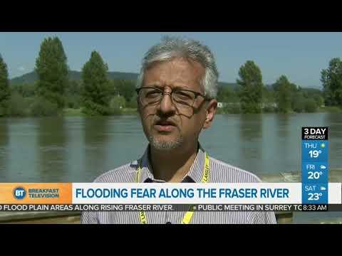 Flooding Fears Along The Fraser River
