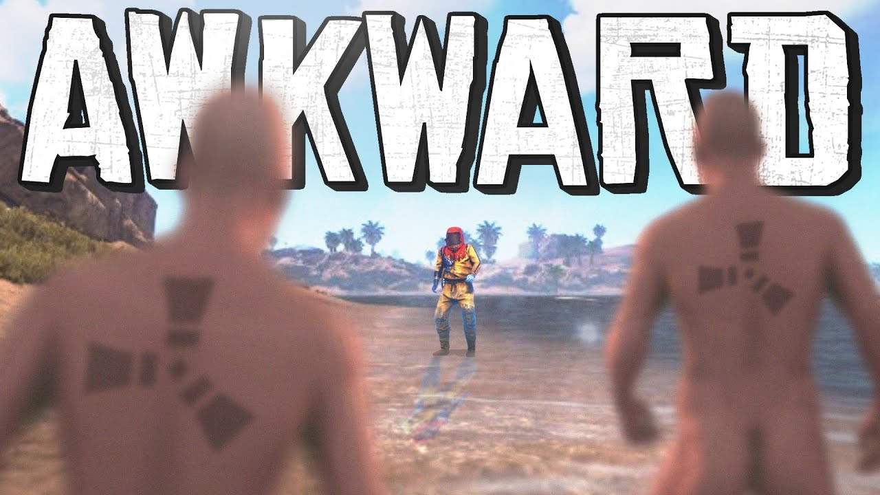 Rust - The Most AWKWARD Naked Encounters EVER