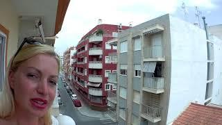 Трёхкомнатная квартира с паркингом на берегу моря по средней цене! Испания, Торревьеха! Обзор 3 мин.