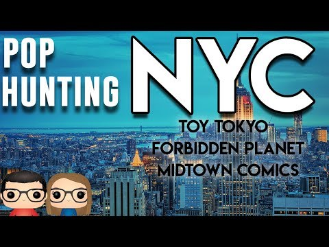 NEW YORK CITY FUNKO POP & TOY HUNTING  OUR AMAZING ADVENTURE