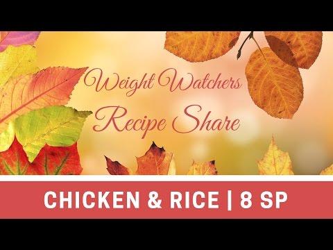 Weight Watchers Recipe Share | One Pot Chicken & Rice | 8 Smart Points