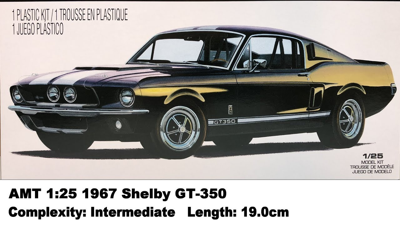 Amt 1 25 Shelby 1967 Mustang Gt 350 Eleanor Kit Review