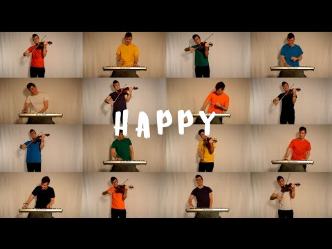 Happy - Pharrel Williams - Violin & Piano Cover  (By Marc Férriz)