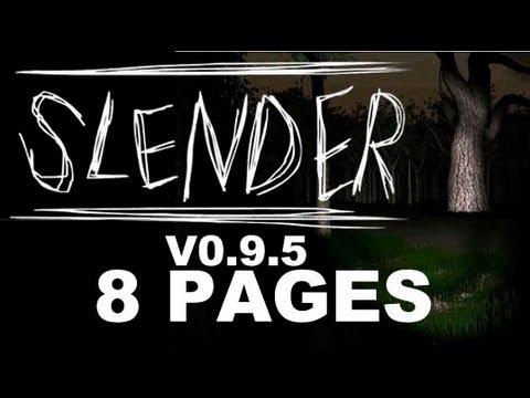 Slender - All 8 Pages Complete Ending
