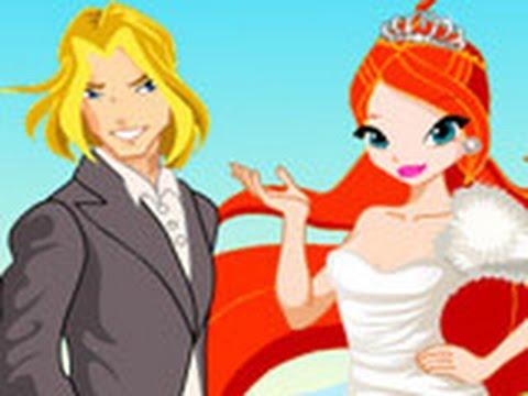 Свадьба блум и ская винкс