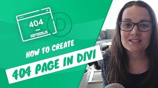 How to Create 404 Page in Divi | Custom Not Found Error Page