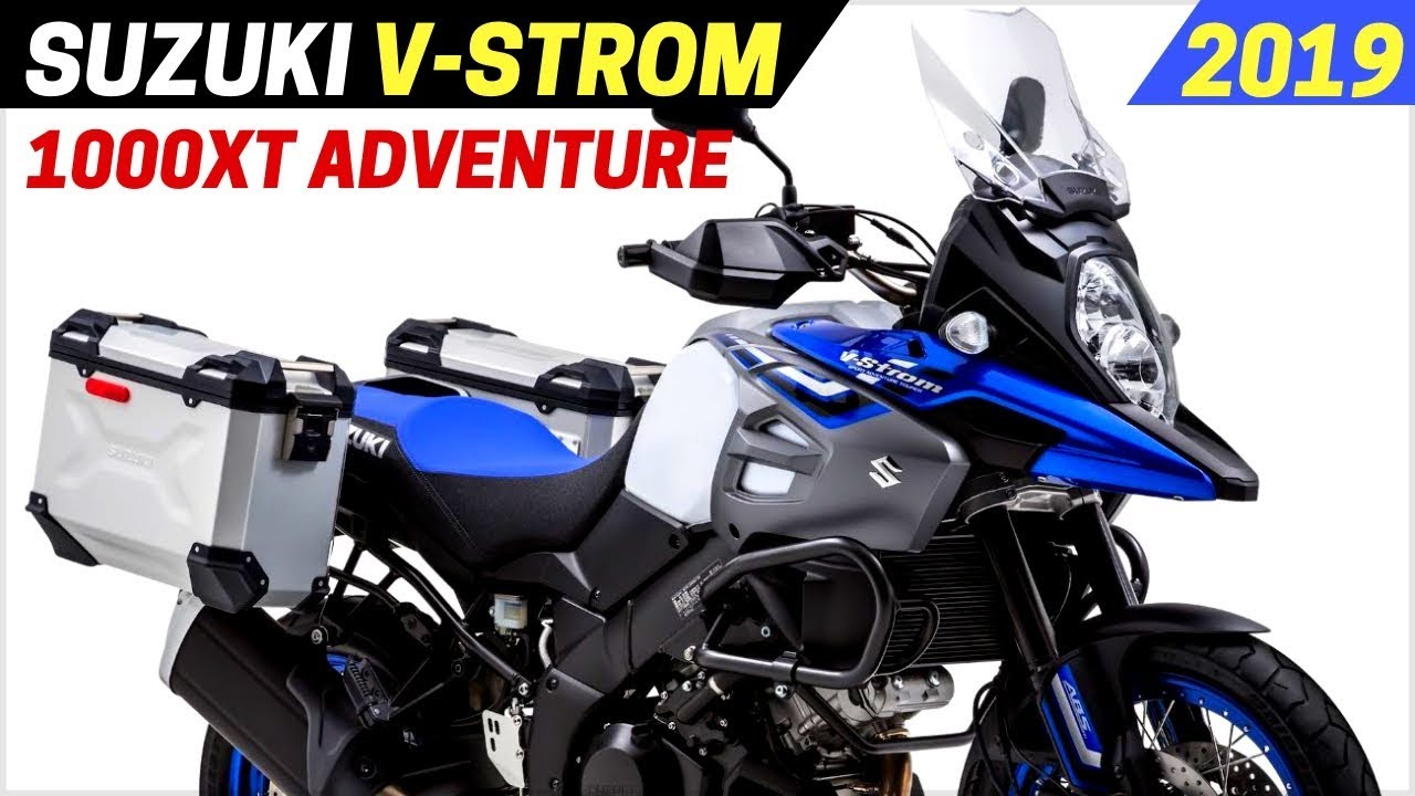 New 2019 Suzuki V Strom 1000xt Adventure Arrived With New Features