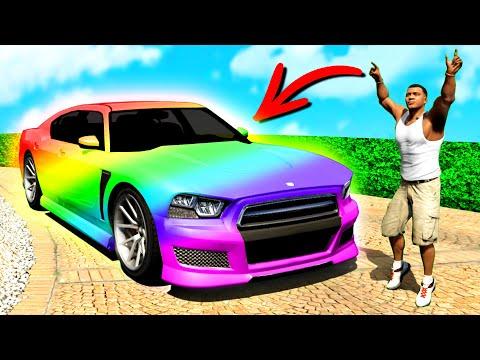 Ich VERZAUBERE FRANKLINS AUTO in GTA 5!!