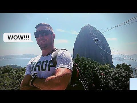 Sugarloaf Cable Car & The Christ of Redeemer Rio de Janeiro, Brazil
