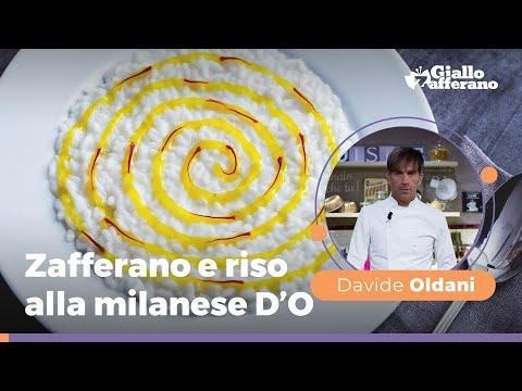 ZAFFERANO E RISO ALLA MILANESE D'O di Davide Oldani