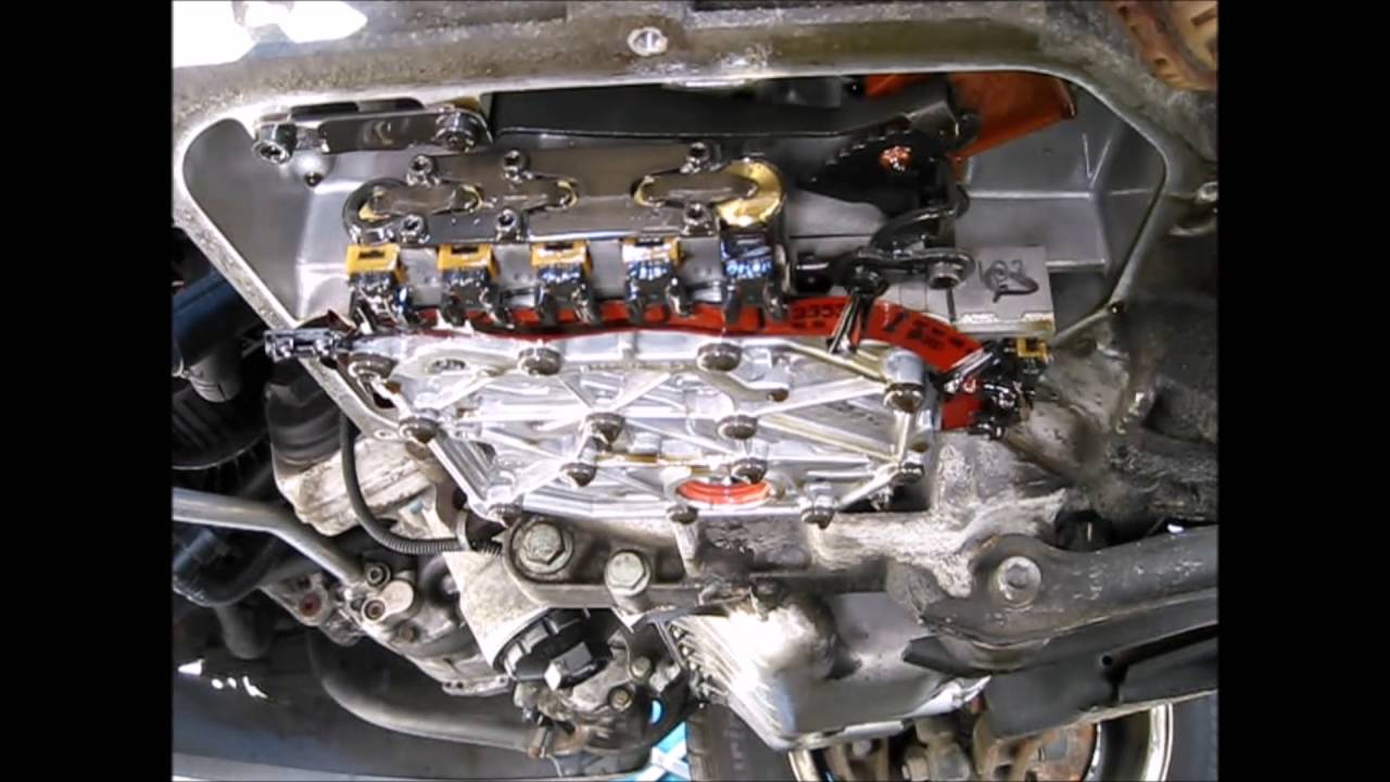 2001 VW EUROVAN AXK Engine 01P Transmission Valve Body Removal
