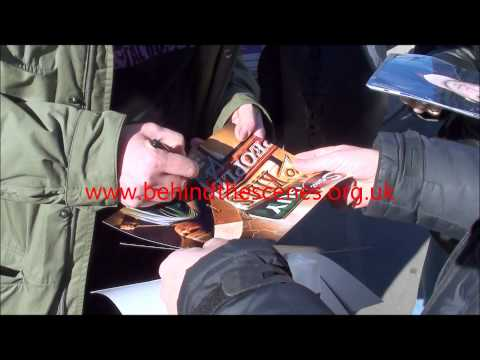Kevin Corrigan signs autographs at the Sundance Film Festival on the 26th January 2015.