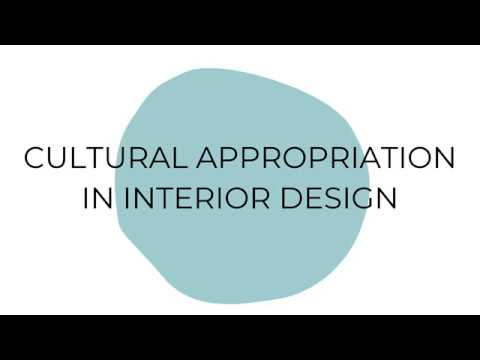 Cultural Appropriation In Interior Design Youtube