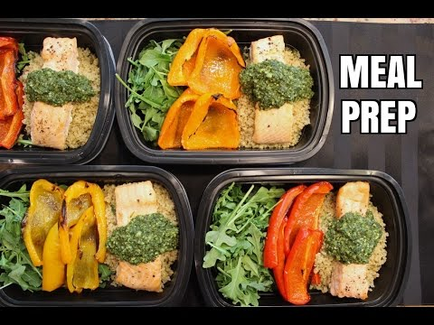 How to Meal Prep – Ep. 4 – SALMON (4 Meals/$4.50 Each)