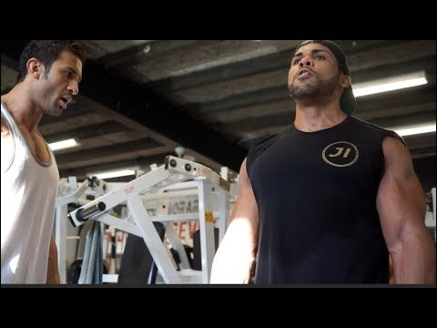 Leg Workout with Jonathan Irizarry and Mohamad Ali | BackStage Gym Denmark
