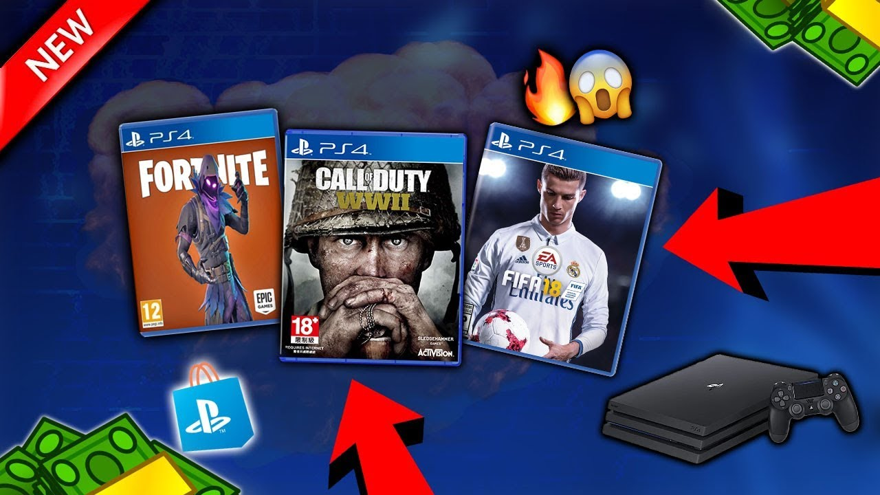 how to get free ps4 games 2018