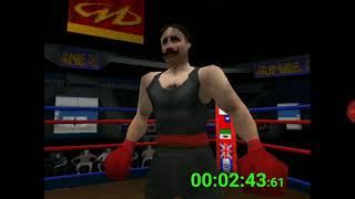 Ready 2 Rumble Boxing Round 2 N64- Lulu Valentine speedrun in 5:31.69