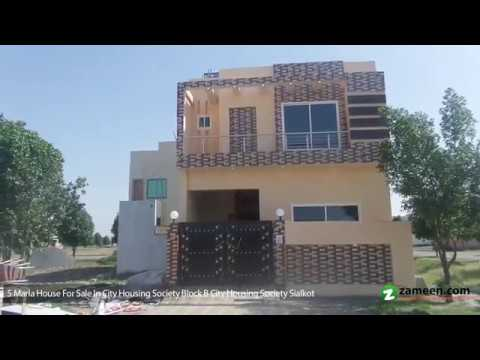 HOUSE IS AVAILABLE FOR SALE IN CITI HOUSING SOCIETY BLOCK B SIALKOT