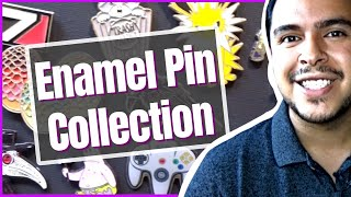 Enamel Pin Board Collection Tour: How I Display Pins (Nerdy Collectibles) - Fun DIY Art Projects